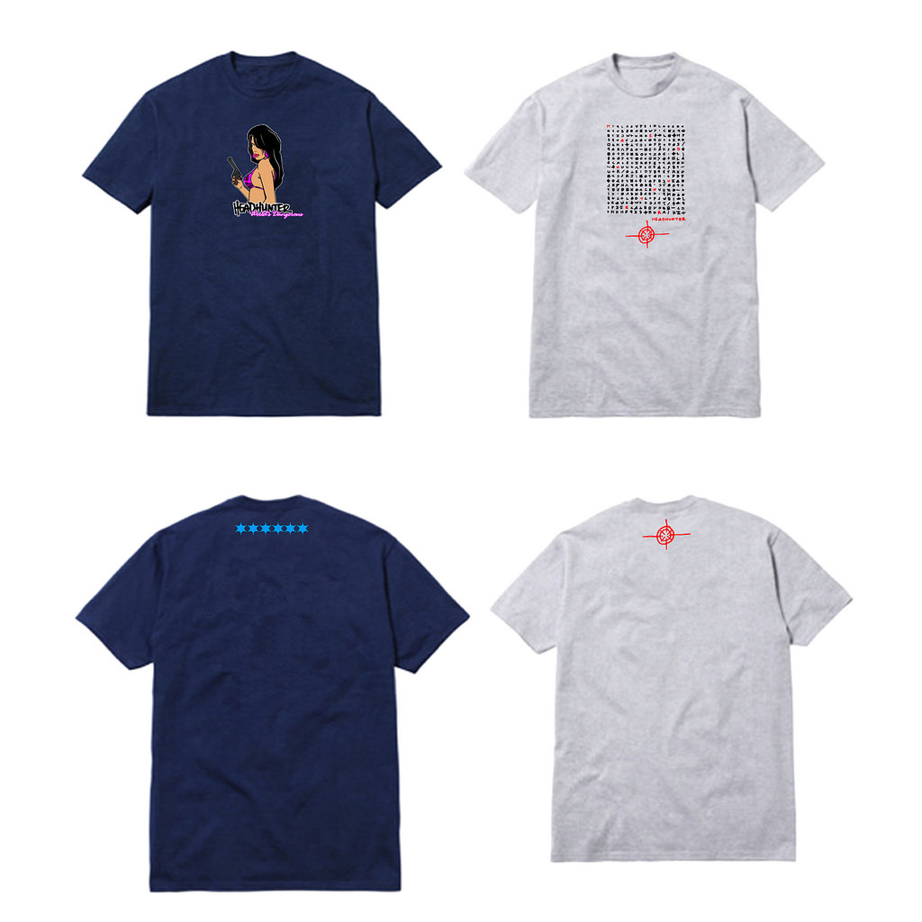 Shirt design on photoshop - Headhunter La Summer 2015 Collection Mockups Photoshop